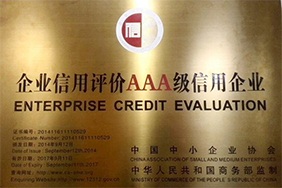 Enterprise Credit Evaluation